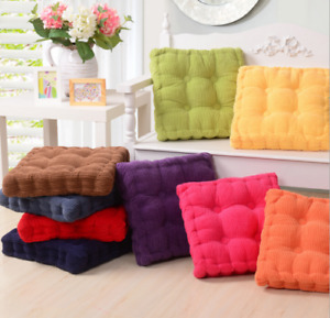 Soft Seat Booster Thick Box Cushion Pads Adults Dining Chair Garden Armchair