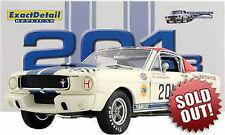 1:18 Esatto Dettaglio Walt Hane's 1965 Shelby R-Model #201B