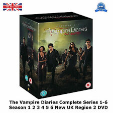 The Vampire Diaries Series 1-6 Complete Seasons 1 2 3 4 5 6 NEW SEALED UK R2 DVD