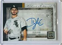DYLAN CEASE ROOKIE 2020 TOPPS MUSEUM ARCHIVAL AUTOGRAPH CARD WHITE SOX #d/299 RC