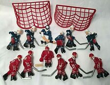 1990's USA vs CANADA Replacement Table Top Hockey Men For STIGA Game plus 2 Nets
