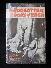 THE FORGOTTEN BOOKS OF EDEN - 1927 [Ltd 1st Ed] Rutherford Platt, Paul Laune DJ