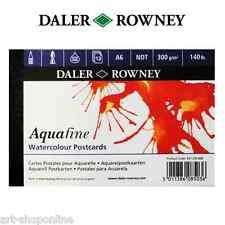 Daler Rowney Artistas Aquafine Postal Almohadilla A6 63,5 kg NO