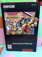 Breath of Fire II 2 SNES Game Instruction Booklet Manual Nintendo