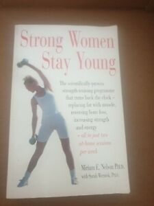 STRONG WOMEN STAY YOUNG (BOOK) GOOD USED CONDITION Pre Owned