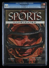 Sports Illustrated Vol 3 Issue 2 First Yogi Berra Cover CGC 8.5