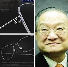 Handmade Ultralight Pure Titanium Eyeglasses Frames Eyewear Men--No screw style