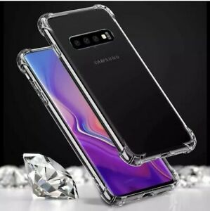 Shockproof Case For Samsung Galaxy S8 S9 S10e S10 S20 FE Clear Gel TPU Cover