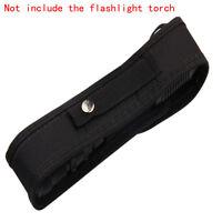 For LED Flashlight Torch Nylon Holster Holder Belt Case Pouch Bag 18cm Pack