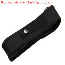 For Cree LED Flashlight Torch Nylon Holster Holder Belt Case Pouch Bag 18cm Pack