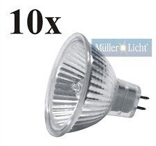 10x Müller-Licht Halogen Reflektorlampe 12V 20W GU5.3 Kaltlichtreflektor 10100)