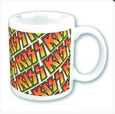 Kiss Kaffeetasse Tiles Kaffeebecher Souvenir Tasse official Lizenz