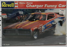 DRAG RACE FUNNY CAR FC DODGE BOYS CHARGER GENE SNOW 72 73 MOPAR REVELL MODEL KIT