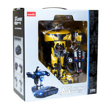NEW Rastar RC 1:14 RS X MAN Transformers USB Radio REMOTE CONTROL TOY CAR ROBOT!