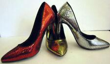 Snakeskin Stiletto Court Shoes for Women