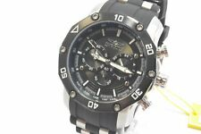Invicta 28753 Pro Diver Black Brown Dial Silicon with Stainless Steel Strap M...