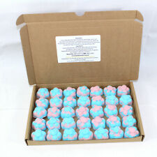 Bath Bombs Fruit Salad scented 35 x 10g Flowers reduced plastic