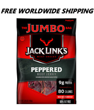 Jack Link's Peppered Beef Jerky 5.85 Oz FREE WORLDWIDE SHIPPING CANDY SNACKS