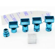 X Spede ACC29M16 Stealth Aluminum Magnetic Body Mounts (4)(Tamiya Blue)
