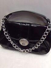 Small Black Handbag By Red Herring @ Debenhams With Double Handles.
