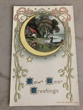 Vintage Post Card - New Year Greetings