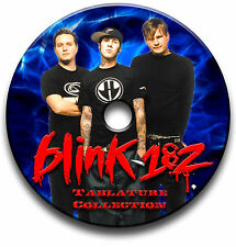 148 x BLINK 182 POP PUNK ROCK GUITAR TABS TABLATURE SONG BOOK SOFTWARE CD
