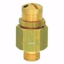 Mini válvula de seguridad G 1/4 pulgadas 3-7 barra ajustable latón Compresores