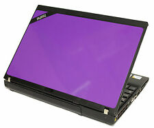 Cheap Purple Laptop Windows 7 IBM Lenovo 1.6Ghz 2GB 2.0 80GB WIFI 12.1