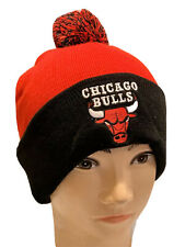 NBA Chicago Bulls Pom Cuffed Beanie