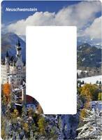 Neuschwanstein Germany Magnet Bilderrahmen 18cm Foto Epoxid Reise Souvenir