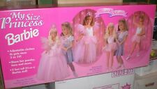 """1995 My Size Princess Barbie Doll 3' """"Wear & Share"""" #13767-9993 New in Box RARE"""
