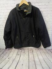 ! Lands' End Mens Black Aircore-200 Jacket Size L 42-42 TALL