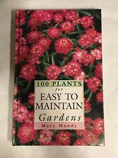 Mary Moody Garden Hardback Book 100 Plants To Easy Maintain Gardens (1995)