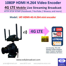 4G LTE Camera-top WiFi HDMI H.264 encoder RTMP Facebook YouTube 4 live streaming