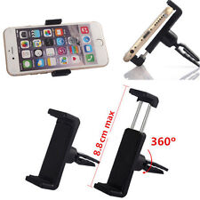 360°Rotate Plastic Car Air Vent Mount Cradle Stand Holder For Smartphone GPS US