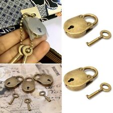 Old Vintage Antique Style Mini Padlocks Key Lock Hot Sale Top