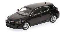 Lexus Ct200h 2010 Black Minichamps 1 43 410166000 Miniature