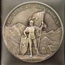 SUISSE - MEDAILLE DE TIR EN ARGENT BERNE 1888