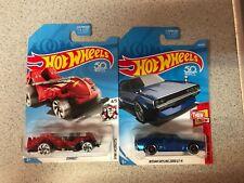 Hot wheels Zombot Treasure Hunt and Nissan Skyline GTR Lot of 2