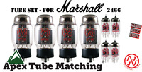 Tube Set - for Marshall 2466