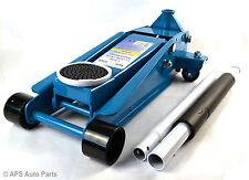 Heavy Duty 3 Ton Dual Rapid Pump Hydraulic Trolley Floor Jack Car Garage Van 4x4