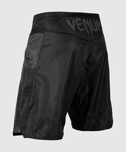 VENUM MENS LIGHT 3.0 FIGHT SHORTS BLACK/DARK CAMO NEW SIZE XXL FREE POSTAGE