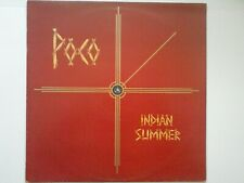 POCO - INDIAN SUMMER: LP 1977 UK ISSUE [ ABC RECORDS - ABCL 5220] VG+/VG+