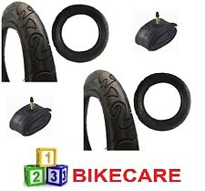 12 1/2 x 2 1/4 Tyre with Tyre Tubes x2 Fits Prams Pushchairs Kids Bikes E-339