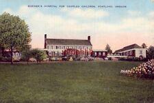 SHRINER'S HOSPITAL FOR CRIPPLED CHILDREN PORTLAND, OR