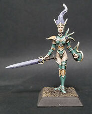 Painted Valkyries of Alahan Confrontation Miniature Painted by Jen Haley