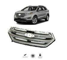 For 21015 2018 Ford Edge Front Bumper Grille Chrome Factory Style New