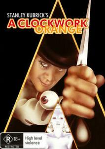 A CLOCKWORK ORANGE New Dvd MALCOLM McDOWELL ***