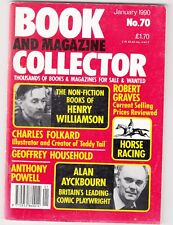 BOOK AND MAGAZINE COLLECTOR  -   No 70 -- JANUARY 1990