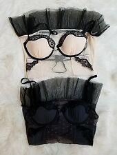 Lot of 2 Rampage Intimates Women's Sexy Lingerie Top Corset Sleepwear Size S/M